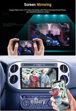 1080P 2 Din Touch Screen Car Stereo Radio GPS WiFi 4G BT TPMS OBD DAB DVD Player
