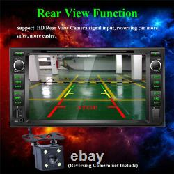1080P 7 inch Car Audio Stereo Radio Bluetooth FM AUX MP5 DVD Player For Toyota
