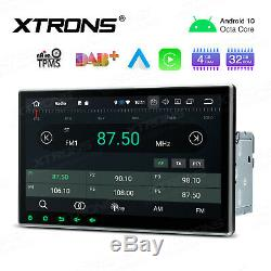 10.1 Android 10 Car GPS Sat Nav Radio Stereo 2K DVD Player Double 2 DIN OBD DSP