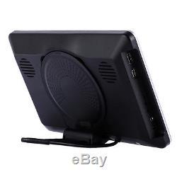 10.1'' Car LCD Video Monitor Headrest SD USB MP4 Radio DVD Player IR/FM Game