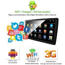 10.1 HD Android 8.1 Octa-Core WIFI Car Stereo Radio Single DIN GPS Sat Nav RDS