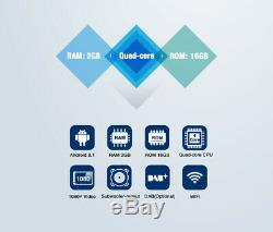 10.1 IPS Android 8.1 Double DIN Car Stereo Bluetooth GPS Sat Nav DAB+ USB WiFi