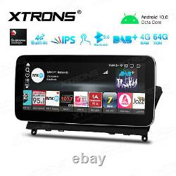 10.25'' Android 10.0 Car Stereo Radio DVD Player for Mercedes Benz C-Class W204