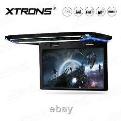 10.2 Car HD 1080P Overhead Flip Down HDMI Roof Mount Digital Monitor Screen USB