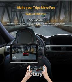10.2 Digital Car Headrest DVD Player Monitor HDMI Touch Button FM/IR USB SD TV