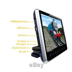11.6 1080P HD Touch Button HDMI/FM/IR/USB/Game Car Monitor Headrest DVD Player