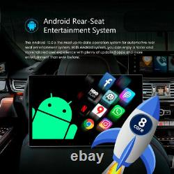 12.5 Android 10 8-Core Touch Screen Car Headrest Monitor HDMI Wifi USB Gaming