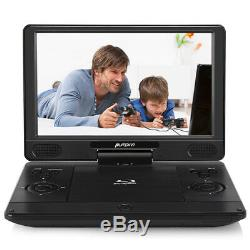 12 Inch Portable Blu Ray DVD Player HD Screen Car USB HDMI Out To Home Flat TV