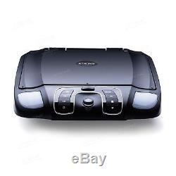 15.6 Car Flip Down CD DVD Player Roof Mounted Monitor + DVB-T Digital TV Box