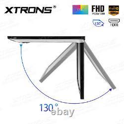 17.3 1080P Slim Thin Car Roof Overhead Monitor Video Player HDMI +2 Headphone