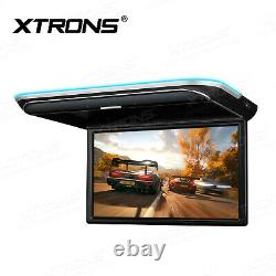 17.3 Android 1080P Car CD Player Octa Core HD HDMI Car roof Mounted Monitor