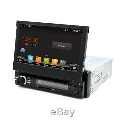 1DIN Android 6 Car Radio Stereo GPS Nav Bluetooth USB SD AUX+CAMERA+MAP