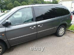 2005 Chrysler Grand Voyager Limited Stow'N'Go 2.8 CRD auto 200k spares or repair