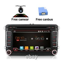 2DIN Car Radio For VW Golf Polo Seat Android 10.0 Stereo GPS Sat Navi DVD Player