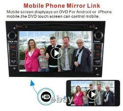 2DIN Car Stereo Radio DVD Player For Vauxhall Vectra Astra Corsa C Zafira Meriva