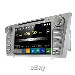 2Din Car DVD GPS 8 Player Radio for Toyota Camry 2008 2009 2010 2011 with Map E