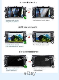 2G RAM+CANBUS Car Stereo Bluetooth USB SD GPS Nav Wifi DVD Player For Ford Focus