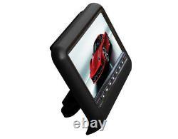 2X9 HD 169 Digital Screen Car Headrest Monitor DVD Player Game Remote Control