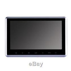 2X 10 HD Digital LCD Touchscreen Car Headrest Monitor DVD/USB Player IR/FM Game