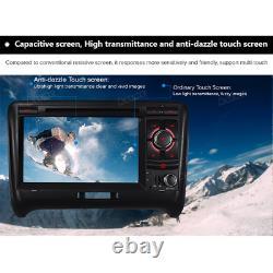 2 DIN Audi TT MK2 Car Headunit DVD Player Stereo GPS Sat Nav Bluetooth FM Radio
