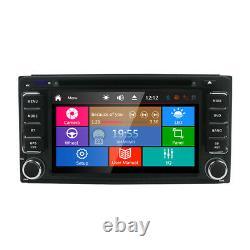 2 DIN Car Radio Stereo CD/DVD Player Sat Nav GPS For TOYOTA RAV4 Corolla SD Card