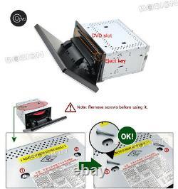 2 Din 10 Car Radio Audio GPS Player Unit Android 10 Wifi BT DVD Car Play DAB FM