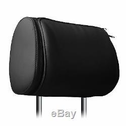 2x 7 Pair of Car Headrest TFT Digital Screen DVD Player CD Monitor Zipper Cover