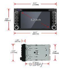 32G ROM 2 Din Android 10 Für Toyota Car DVD Player GPS Navigation Radio BT Wifi
