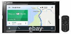 3JVC KW-M845BW 2 DIN Wireless Apple CarPlay+Android Car Radio Receiver Bluetooth