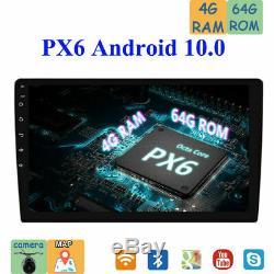 64G 10.1 Android 10.0 Car Headunit Stereo GPS SAT NAV OBD2 DAB+ Radios WiFi 4G