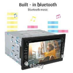 6.2'' 2 Inch DIN Car Stereo Radio DVD Player GPS SAT Nav MP3 Radio Rear Camera