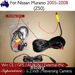 6.2 CAR DVD GPS Player Head Unit Stereo Navi For Nissan Murano 2005-2008 (Z50)