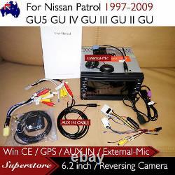 6.2 CAR DVD GPS Player Stereo Navi For Nissan Patrol GU5 GU IV GU III GU II GU