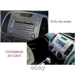 6.2 Car DVD GPS Stereo Player Navigation Head Unit For Hyundai i20 2010-2015