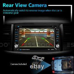 6.2 Double 2 DIN Car CD DVD Player MP5 FM Radio Stereo GPS SAT NAVI Bluetooth
