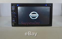 6.2 Double 2 DIN Car DVD Player Stereo for Nissan universal GPS CD BT Radio