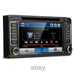 6.2 GPS Navigation Car DVD Player BT Stereo USB Aux For Toyota Estima Previa