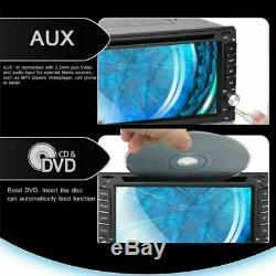 6.2 IPHONE SIRI 2DIN AUTORADIO APPLE CARPLAY DVD PLAYER USB SD + Rückfahrkamera