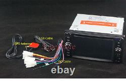 6.2 Navigation CAR DVD GPS Player head unit For Toyota Landcruiser 1999-2006