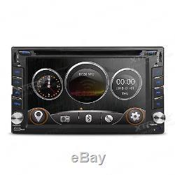 6.2 Universal Double 2 DIN Nissan Car Stereo Radio CD DVD Player GPS Navigation