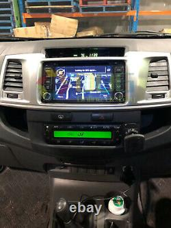 6.2 inch 2 din for TOYOTA HILUX Car DVD GPS Head Unit Stereo Player 2012-2014