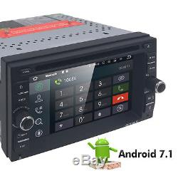 6.2 inch Android 7.1 4G WiFi Double 2DIN Car Radio Stereo DVD Player GPS+Camera