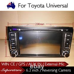 6.2 inch head unit CAR DVD GPS Player Stereo usb For 2005-2011 Toyota Hilux
