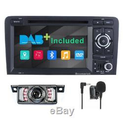 7Audi A3 2003-2013 Car Radio Stereo DVD Player GPS Sat Nav S3 RS3 Can bus DAB+