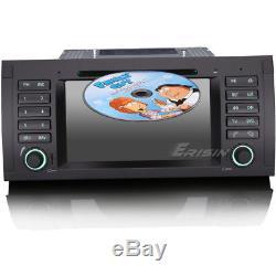 7Autoradio GPS Navegación Car DVD player 3G DVR For BMW E39 X5 E53 M5 7053BGS