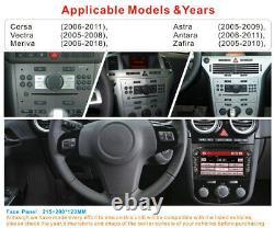 7CAR SAT NAV STEREO DVD PLAYER BT For Opel Vauxhall Corsa Antara Vectra Zafira