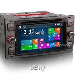 7Car DVD/CD/USB Player GPS FORD Focus Kuga Fiesta Mondeo Transit Galaxy 7166FGB