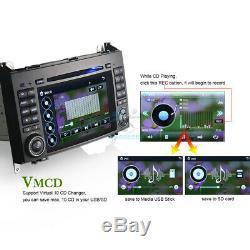 7Car DVD Player GPS DAB+Autoradio BT Sat Navi Mercedes Sprinter Viano Vito W639