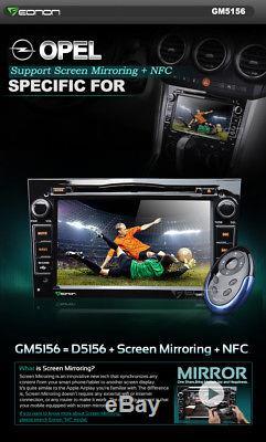 7Car DVD Player Stereo GPS Sat Nav Autoradio for Opel Vauxhall Zafira B Corsa D