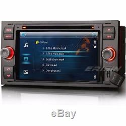 7Car DVD Sat Nav 3G Radio iPod DVR DVB-T FORD FOCUS FIESTA TRANSIT C/S-MAX KUGA